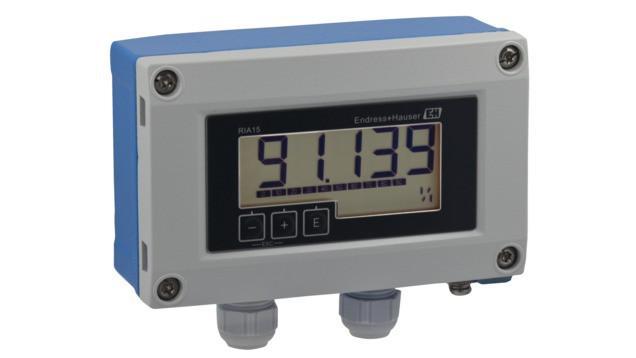 RIA15 Indicatore di processo per segnali 4…20 mA o HART® -