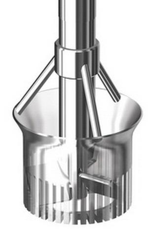 Mixing disperser YSTRAL Dispermix - Vertical mixing in micro and macro range, dispersed product completely
