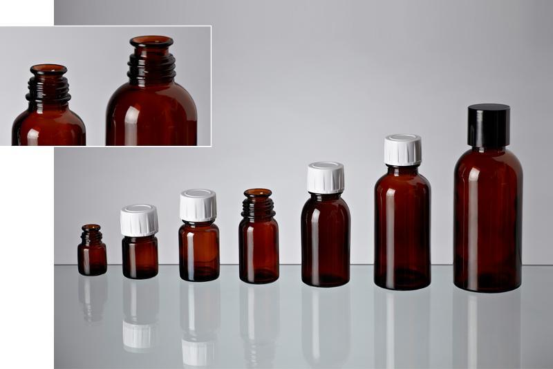 Essence bottles - Glass bottles