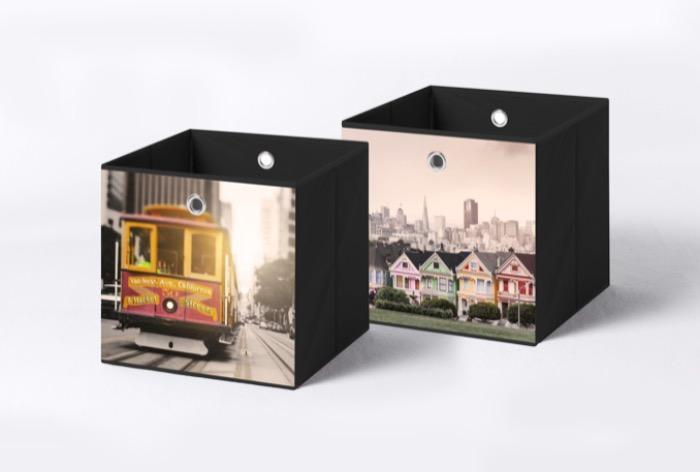 Aufbewahrungsbox, Faltbox, Ordnungsbox - Storage