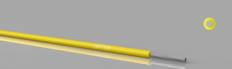 Temperature resistant cables - LiH-T120 Hook-up wire, stranded, 120°C, zero halogen