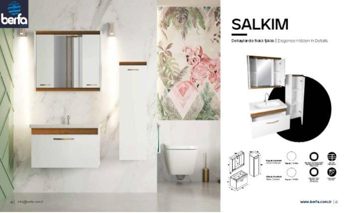 Bathroom Furtniture Karine80 - Bathroom Furtniture