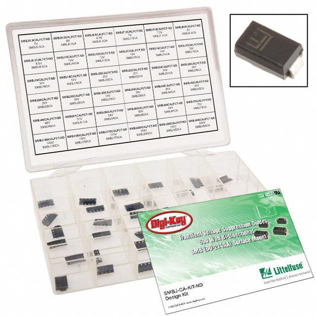 KIT TVS DIODE 600W BI-DIR SMB - Littelfuse Inc. 4879333