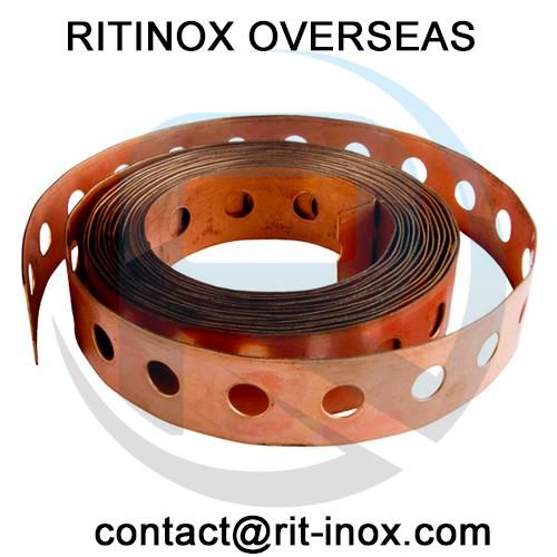 Copper Perforated Coil -