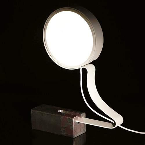 LED table lamp DND Profile in white - Table Lamps