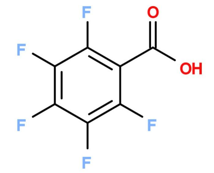 Pentafluorbenzoesäure - PFBA; 602-94-8;  Sparfloxacin Intermediate