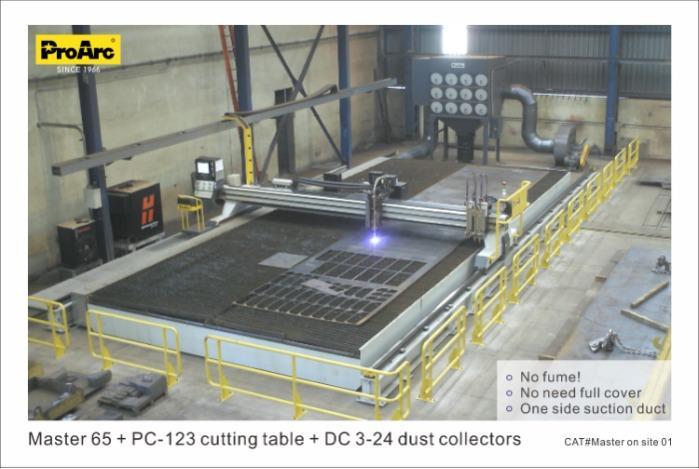 CNC plasma cutting machine - ProArc Master series- Gantry type