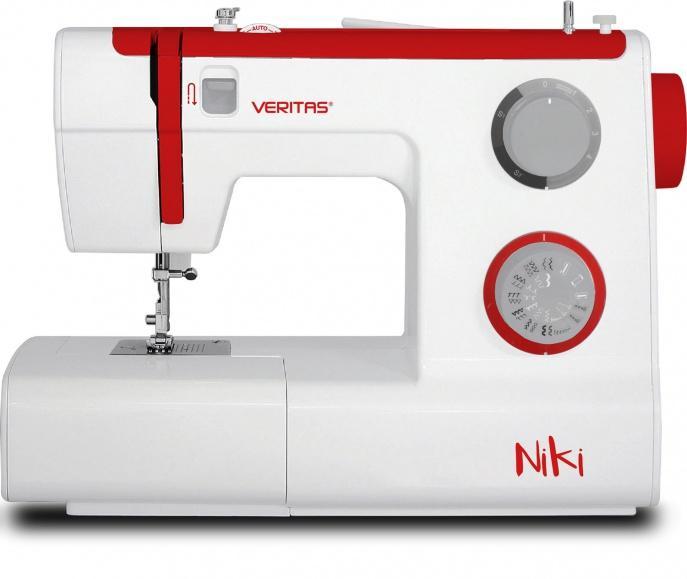 Veritas Niki - Veritas Niki – 23 programov šivanja, avtomatski vdevalec sukanca, nastavljiva do