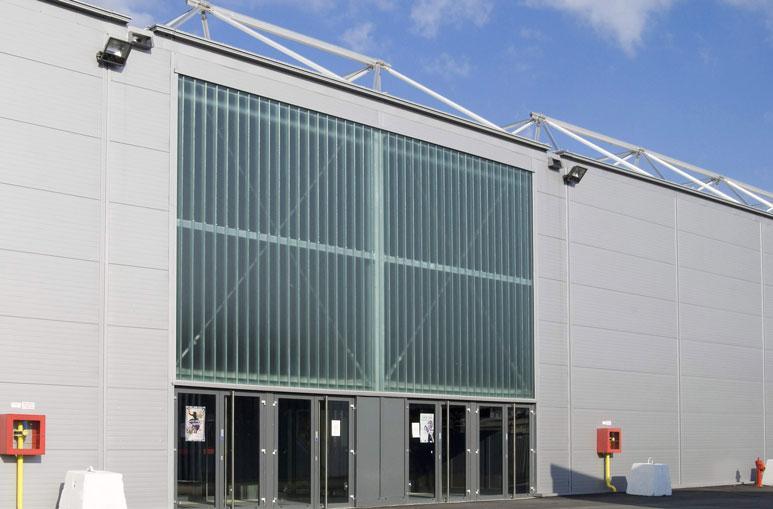 Hall d'exposition - Système de construction - Bâtiments sportifs et Espaces Loisirs
