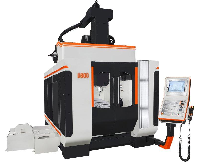 3-Axis-Machining-Center - U 800 - 3-Axis-machine-center for construction and forming of tools, U 800, Takumi
