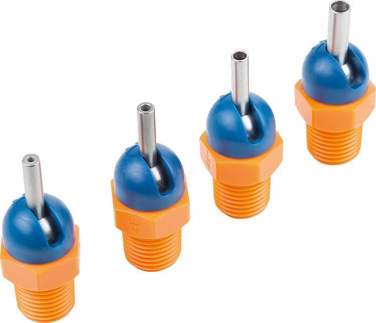 High pressure nozzles LOC-LINE® - Feeler gauge strips - Magnetic labels - Envelopes Protective nets