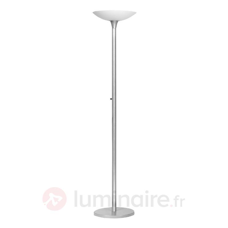 Lampadaire indirect VARIAGLASS gris métal - Lampadaires à éclairage indirect