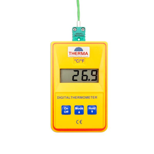 Präzisions-Sekunden-Thermometer for NiCr-Ni, Type K - Displays