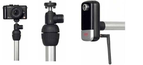 robolink® camera adapter with or without spherical head - null