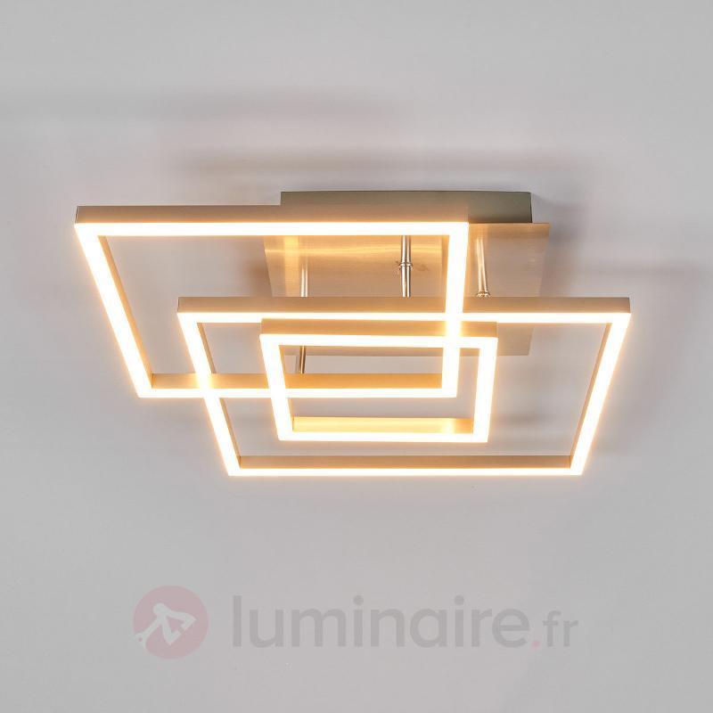 Trois cadres métalliques - plafonnier LED Delian - Plafonniers LED