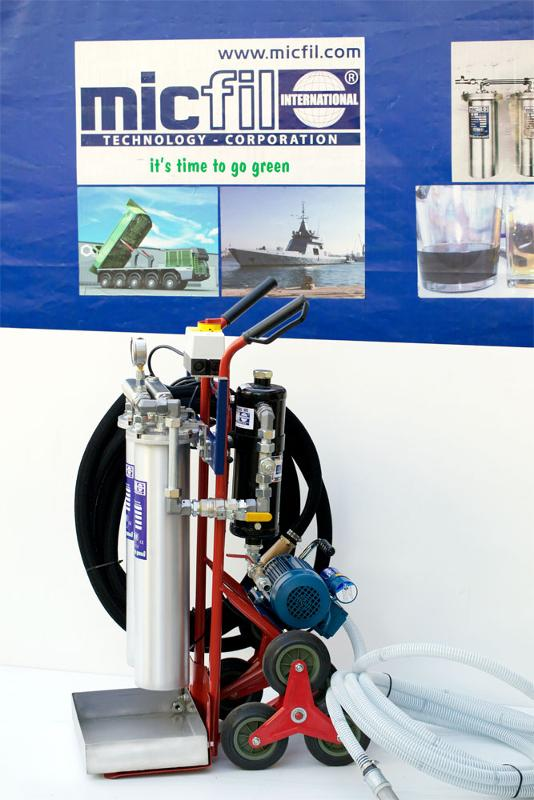 Micfil Mobile Diesel Tank Cleaning System