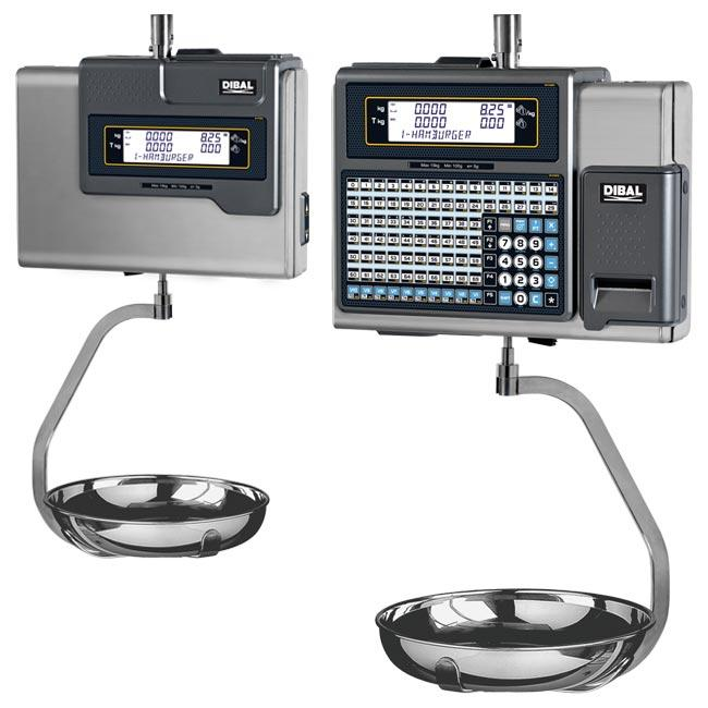 Mistral Series - Retail scales with receipt or label printer