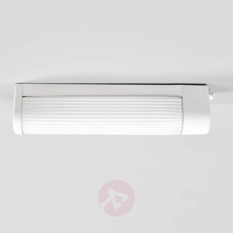 Functional wall light Balls, white, with socket - Wall Lights