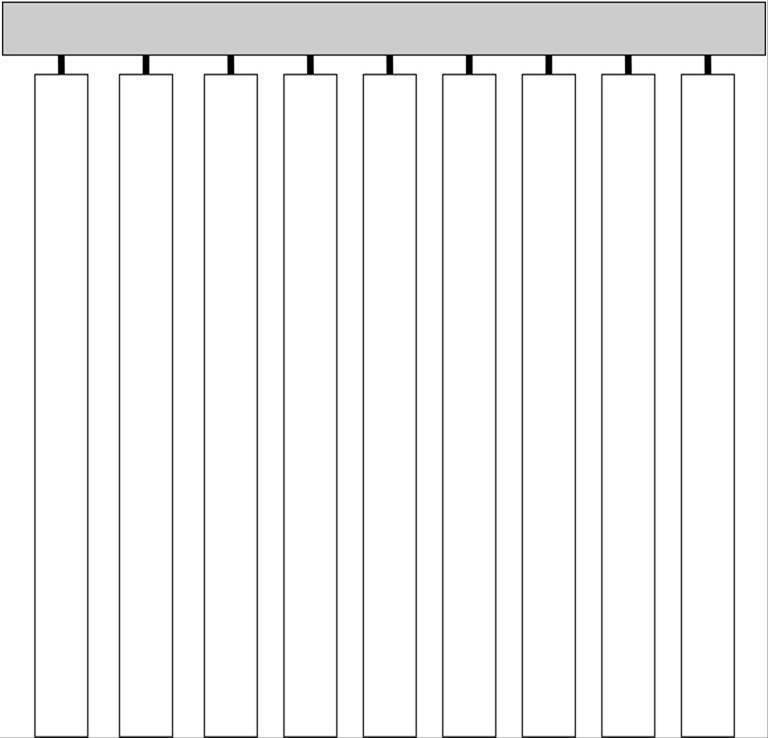 Lamellenvorhänge - Senkrechte, rechteckige Fenster und Türen Auswählen