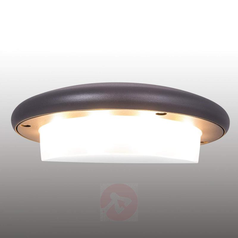 Hercules simple LED outdoor wall light IP54 - outdoor-led-lights