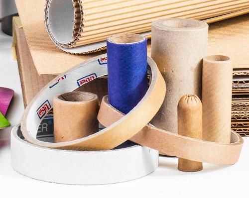 Cardboard rings - Recycled cardboard rings, can be ersonalised with printed exterior or exterior