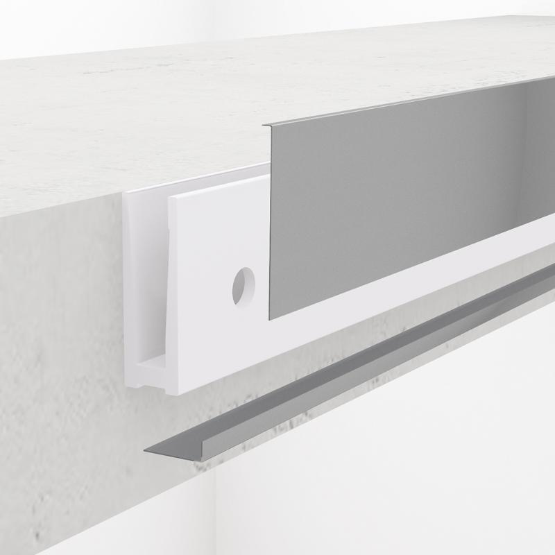 Cover strip bottom to RKL2200 - Kraus Railing Lite Profiles