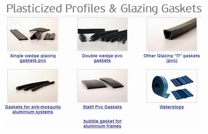PVC profiles - PVC profile fittings