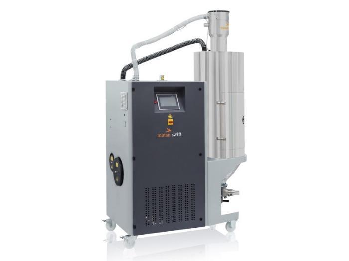 Essiccatore ad aria secca - COMPACT swift - Essiccatore compatto con trasportatore integrato