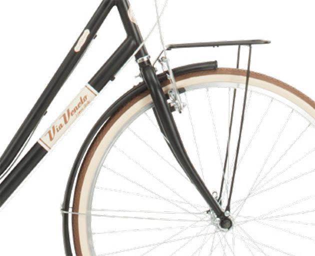 Via Veneto VV619L Malagueta – Cuadro de Acero, 6 Velocidades, Modelo Mujer - Via Veneto