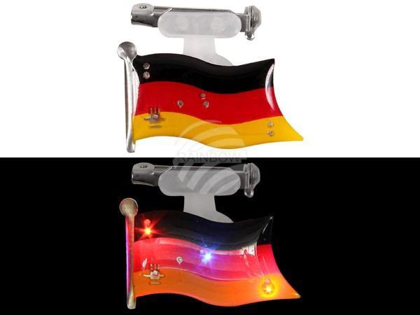 Blinki Blinker schwarz rot gelb Motiv: Flagge Deutschland - null