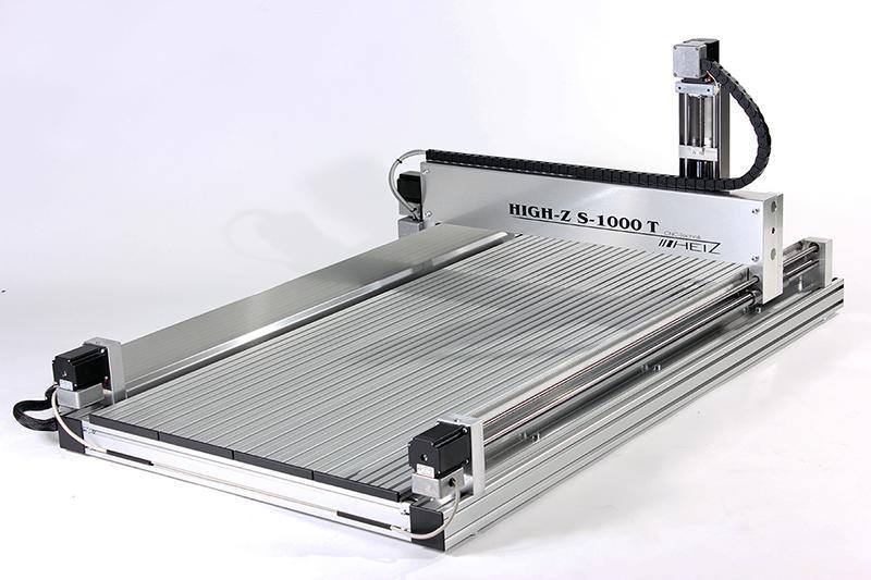 CNC Fräse für Holz, Kunststoff & Metall - High-Z S-1000/T mit Verfahrwegen von 1000 x 600 mm