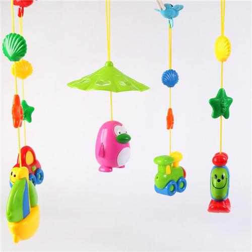 Baby animal hanging rattles - Wishtime Baby Musical Mobile