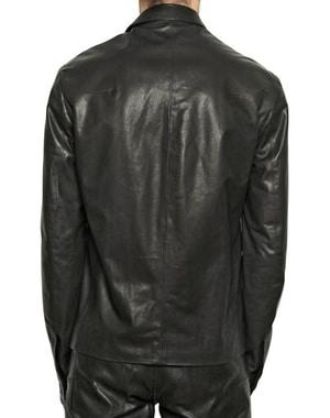 Black leather jacket for men - Pure leather jacket for men