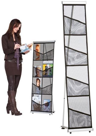 Brochure Sets - Porte-Brochures Hold-Up Basic A4