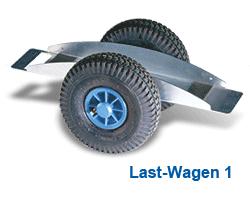 Last-Wagen - null