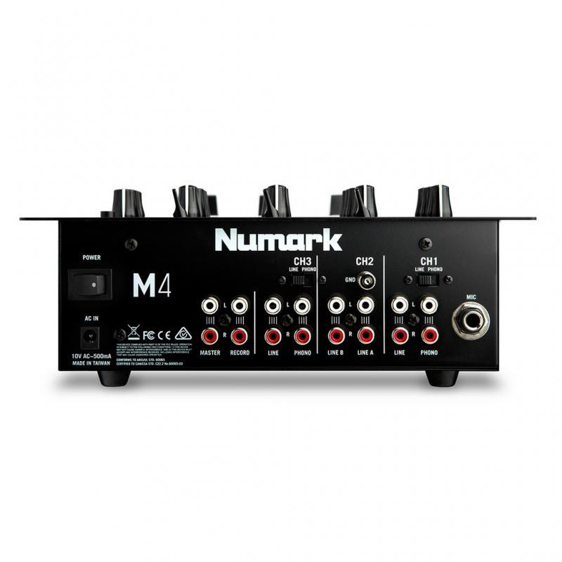 DJ-Mixer - Numark M4 Black