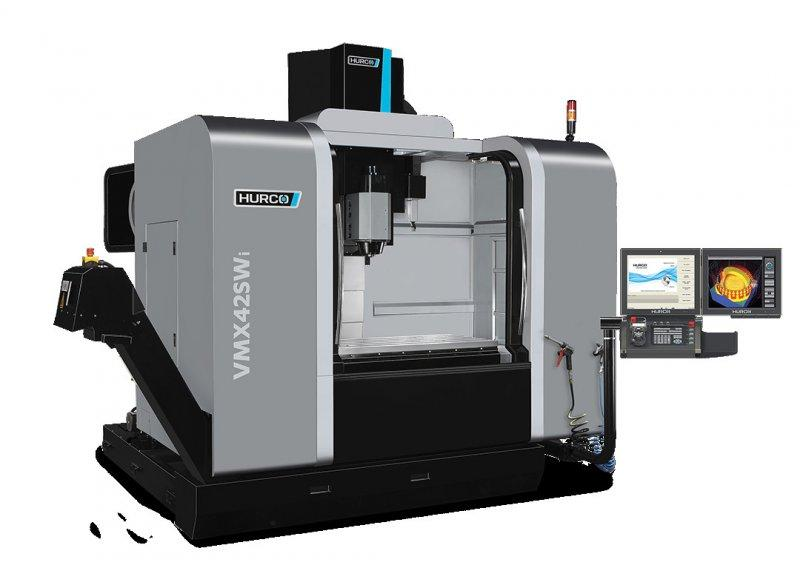 5-Axis-Machining-Center - VMX 42 SWi - Swivel-head/ rotary machine designed for high-mix manufacturing