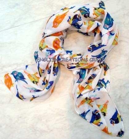 Polyester printed scarves - Polyester printed scarves