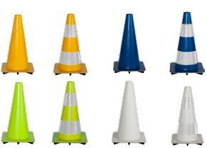 Cone soft PVC in different colors H +/- 30 cm - SIKEL03xxxx