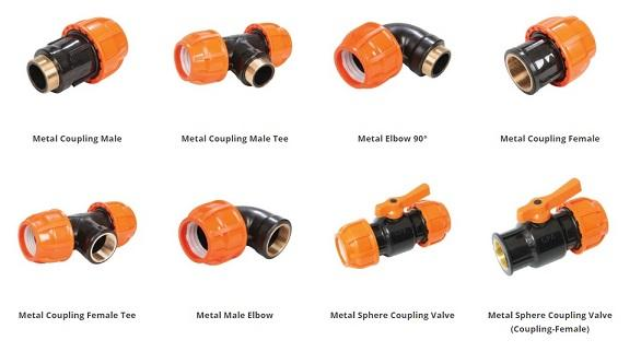Fittings - Fittings connecting pipes
