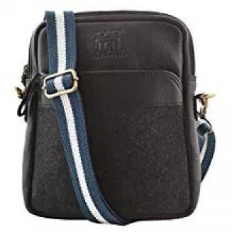 Branded Genuine Leather Side Sling bag