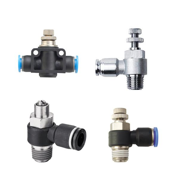 Speed Controllers, Flow Control Valv - Speed Controllers, Flow Speed Regulators, Flow Control Valves
