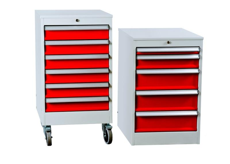 Drawer unit and drawer trolley for workshops. - null