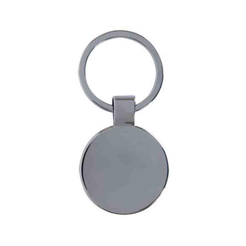 Porte-clés cyclisme métal brillant - Porte-clés métal