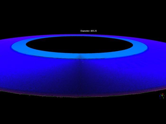 QuellTech Laser Scaner Q6-15-82 Messung - QuellTech Laser Scaner Q6-15-82 Messung von Rundheit und Rundlauf