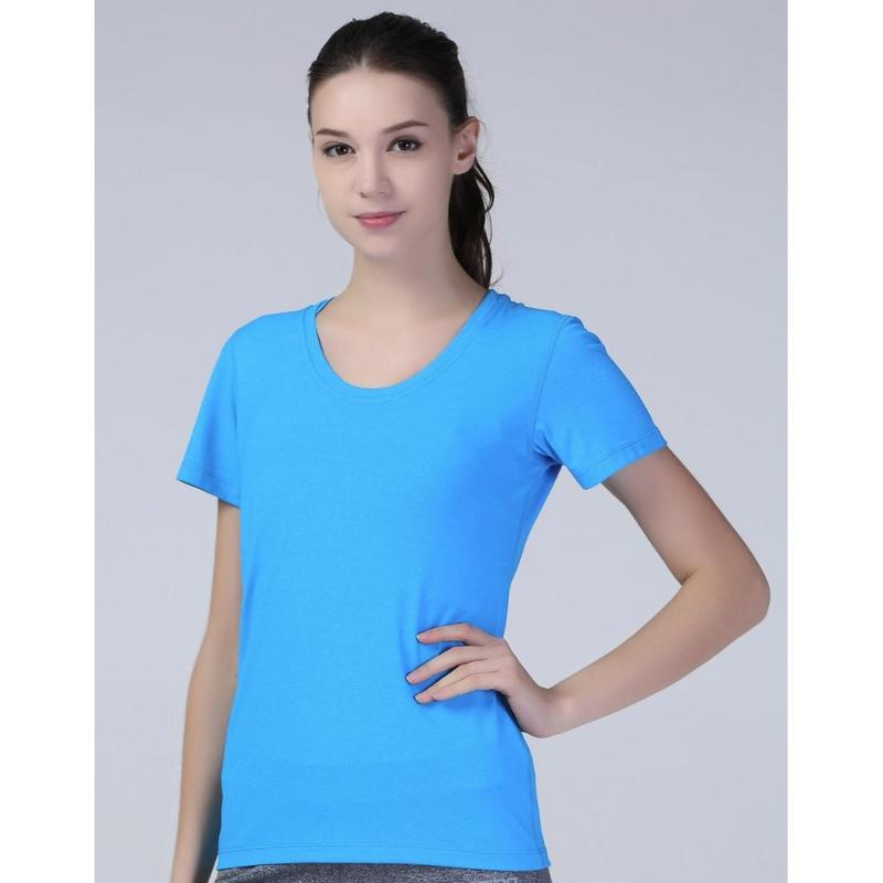 Tee-shirt femme Fitness Shiny - Hauts manches courtes