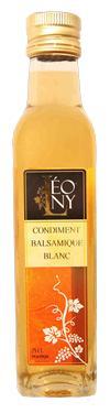 Condiment Balsamique BIO Blanc  - 5,4 % LEONY