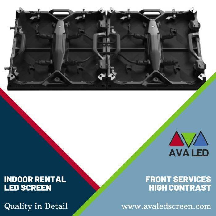 Elite CR Indoor Series - P1.95 - P2.6 - P2.97 - P3.91 Θήκη ενοικίασης Εμφανίζει AVA LED