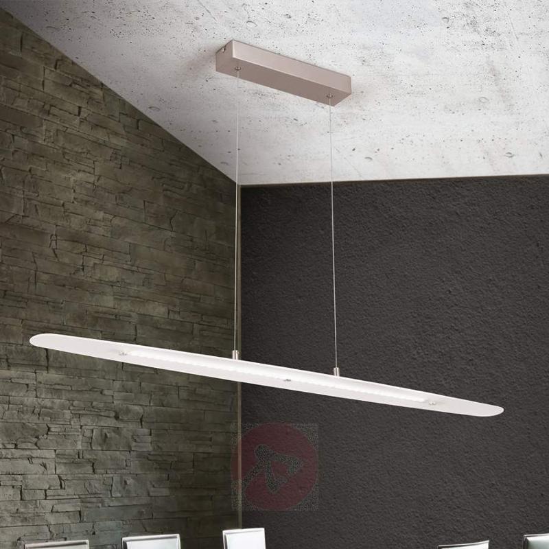 Elongated LED hanging lamp Sabira - Pendant Lighting