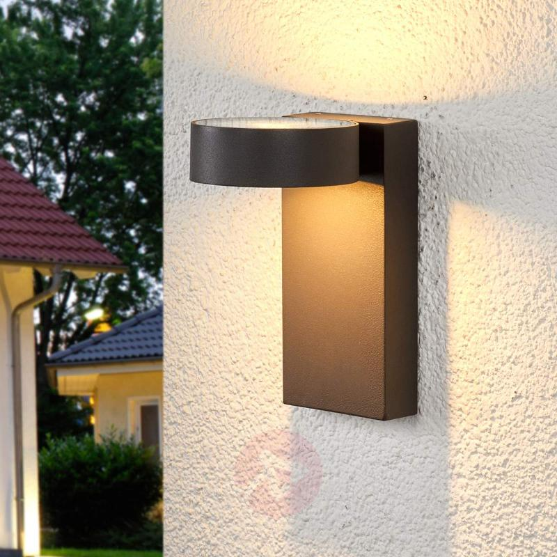 2-bulb LED outdoor wall light Ksenia - Outdoor Wall Lights